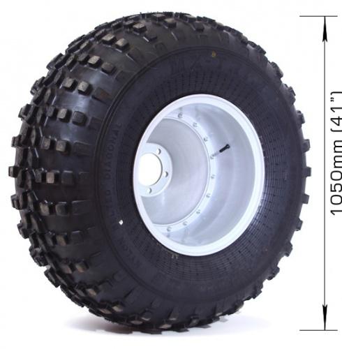 ZESTAW MX-TRIM 2 + FELGA 6×139,7, DIA 110